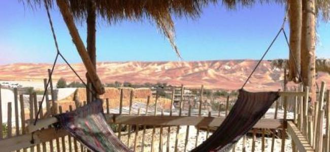 """כפר הנוקדים – להתפנק בסגנון בדואי בלב מדבר יהודה ועכשיו: סוכות בסגנון """"ימי קדם""""*"""