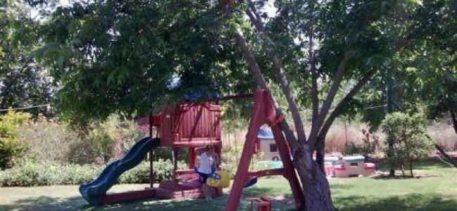 מסעדת  נחלה בנהריה – ארוחה עם חצר משחקים לילדים