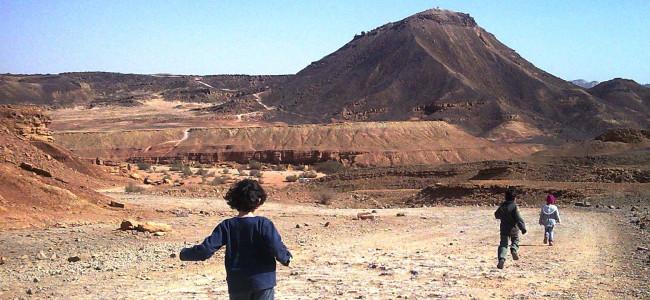 איך כבשנו את גבעת חרוט – כל המשפחה מטפסת על הר בנגב