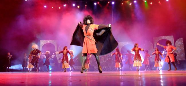 להקת המחול הלאומית של גיאורגיה  Erisioni – וירטואוזים של שירה ומחול