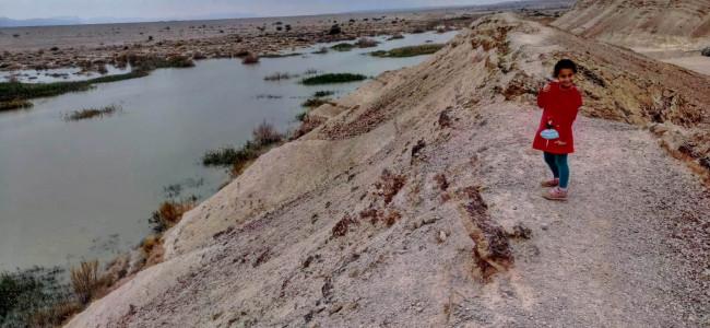 אגם המים במאגר עשת – טיול משפחתי קצר בערבה התיכונה