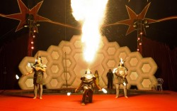 קרקס פלורנטין מציג בחנוכה: קרקס האש והמים 2
