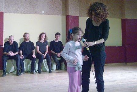 פליייבק - הרעיונות של הצופים הצעירים מקבלים צורה ואופי בהופעה על הבמה