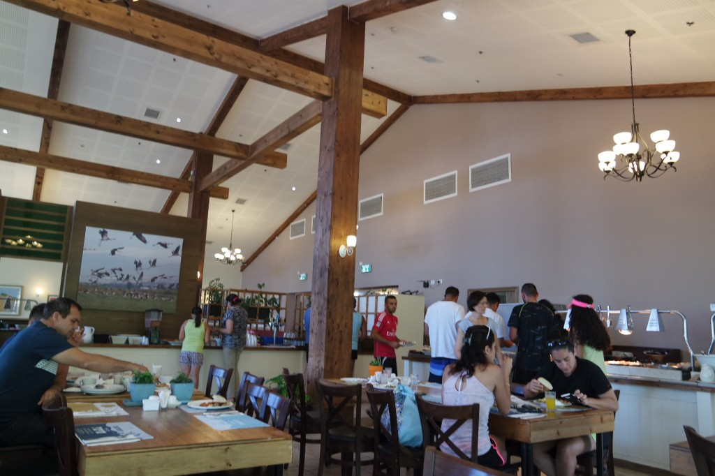 חדר האוכל החדש של כפר הנופש