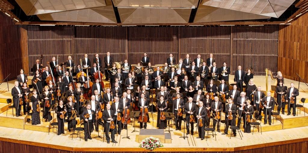 התזמורת הפילהרמונית. צילום: עודד אנטמן
