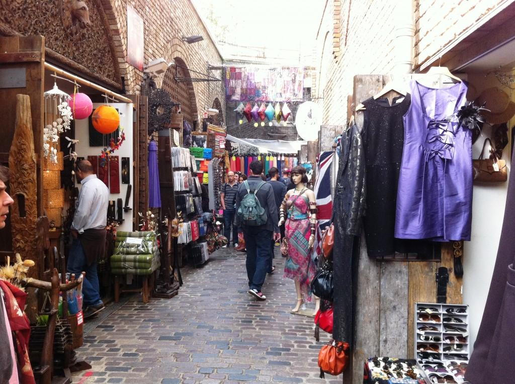 סמטה בשוק של קמדן