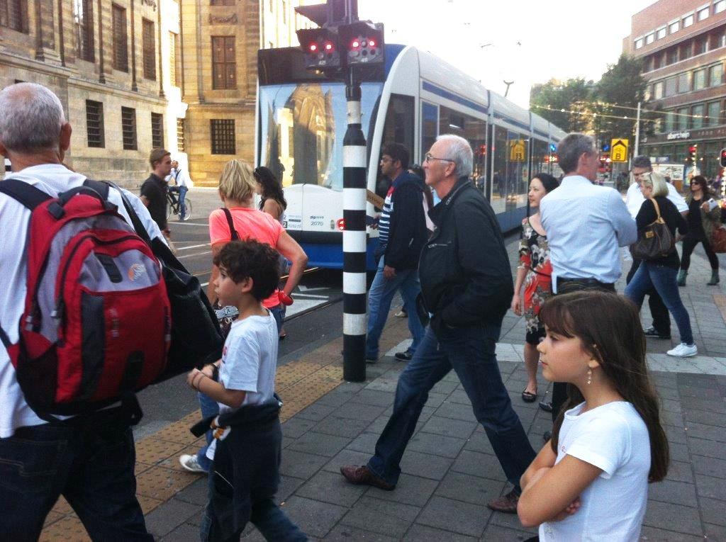 נוף אנושי באמסטרדם