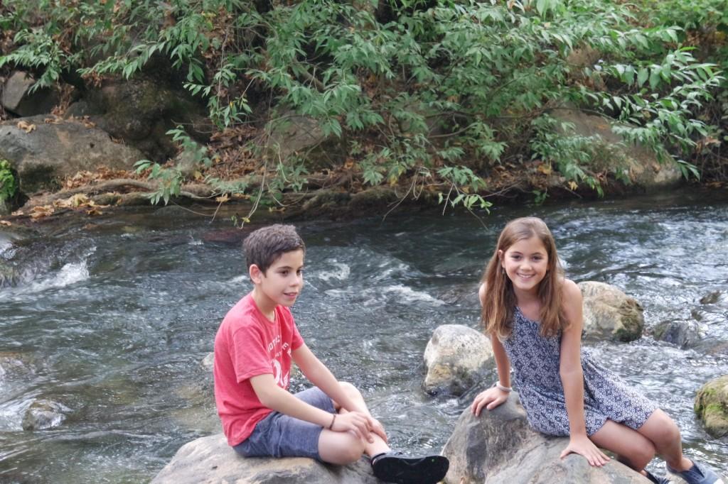 רומי ואדר בנחל חרמון