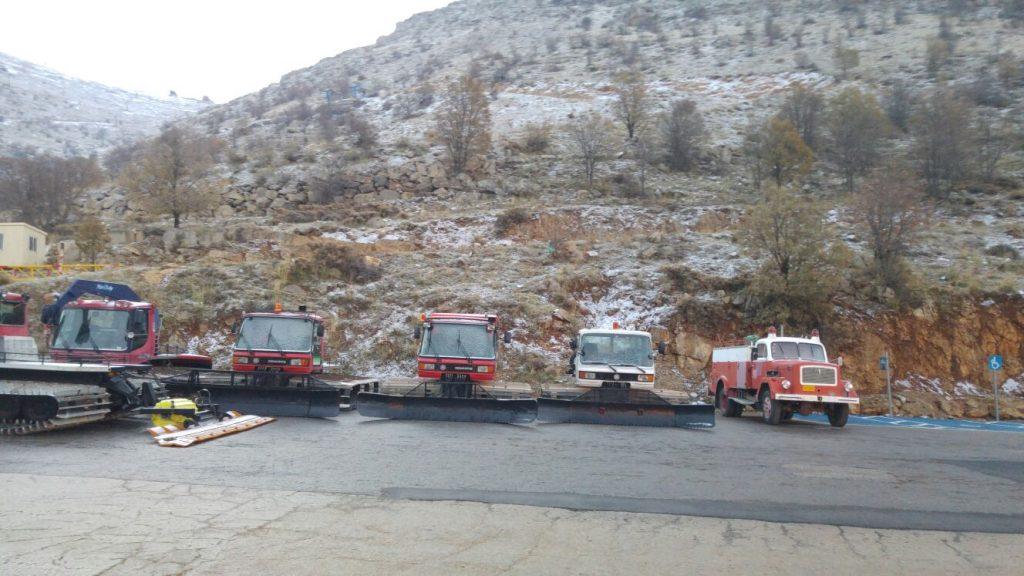 שלג ראשון וקל באתר החרמון 14.12.15 צ. אתר החרמון  (1)