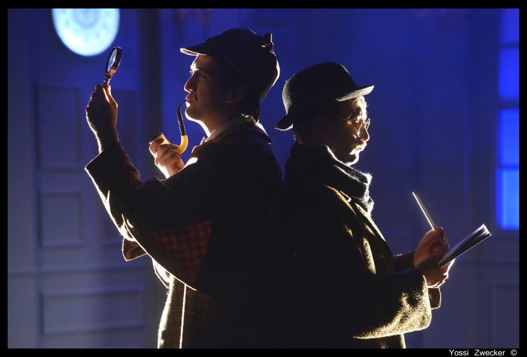 """בכורה ל""""שרלוק הולמס"""". צילום: צבקר."""