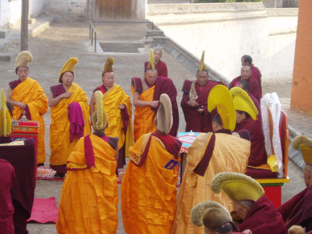 פסטיבל האביב במנזר לברן שברמה הטיבטית. צלמה ליאור עלמה וקסלר