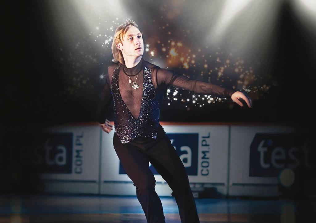 פלושנקו בהופעה על הקרח