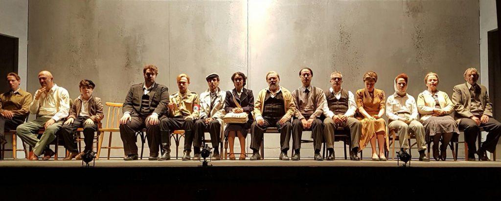 לבד בברלין  צילום באדיבות תהיאטרון הלאומי הבימה