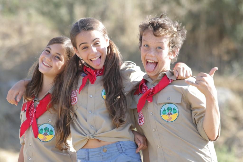 כוכבי הסרט הצעירים: יובל גל, נאיה פדרמן ורומי אבירם.