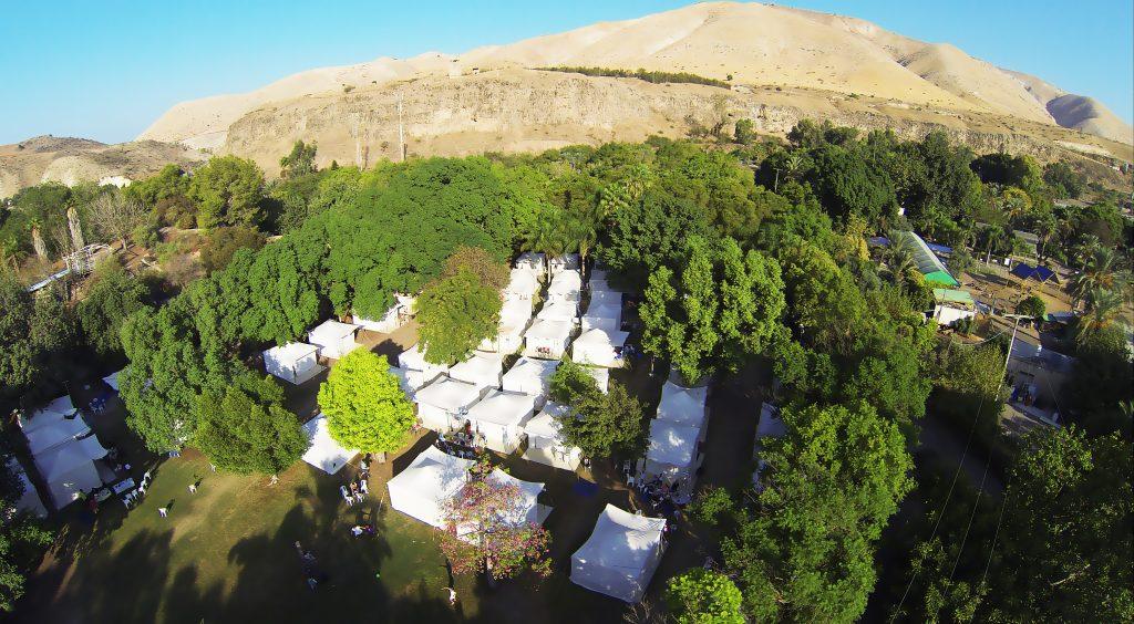 כפר האוהלים בחמת גדר צ  באדיבות חמת גדר (2)