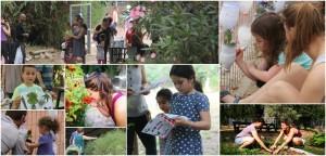 פעילות בגן הבוטני בתל אביב