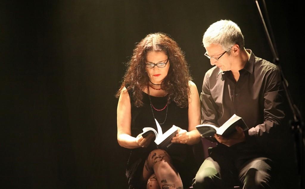 דליה שימקו ואייל שכטר בצילום של ריכטר לוין