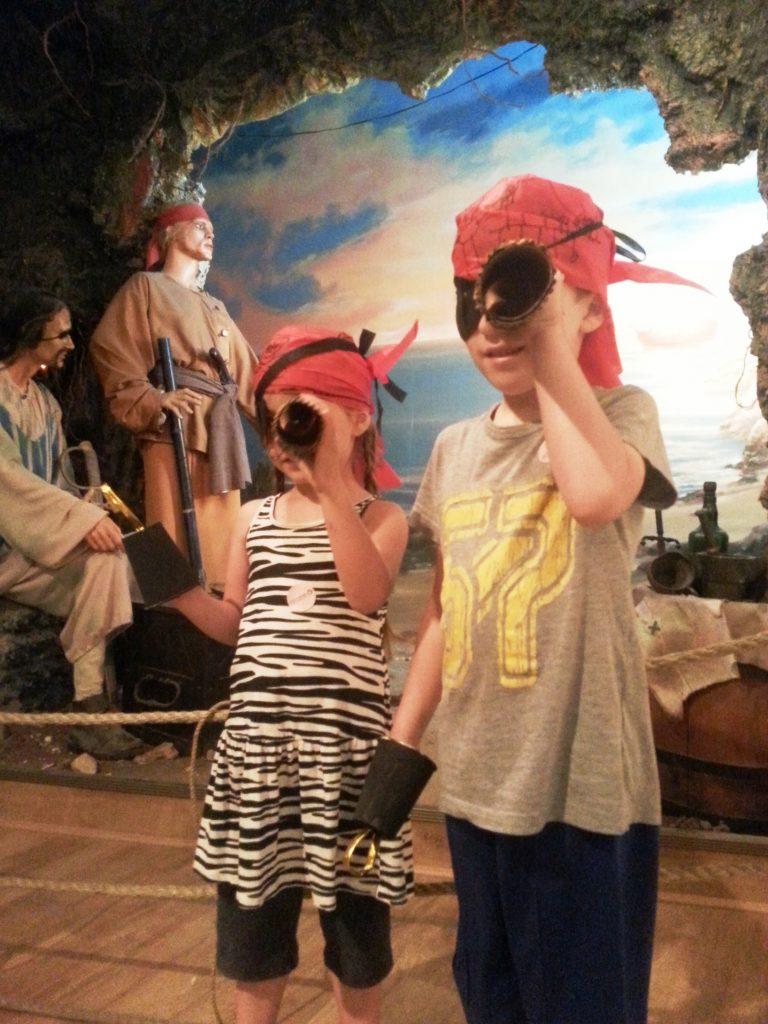 סדנת פירטים במוזיאון בחיפה